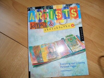 Artists Journals and sketchbooks. Inspirational book for aspiring artists. New.