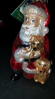 Old World Christmas ornament Santa