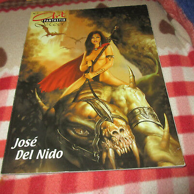 Art Fantastix Select Nr. 7  - Josè Del Nido -  Fantasy Comic/ Erotik Artbook