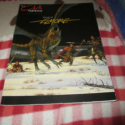 Art Fantastix Select Nr. 5  - The Art of Elmore -  Fantasy Comic/ Erotik Artbook