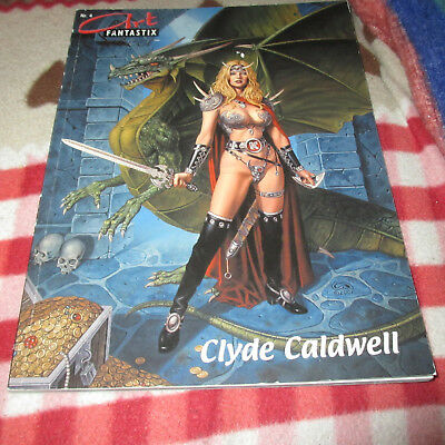 Art Fantastix Select Nr. 4  - Clyde Caldwell -  Fantasy Comic/ Erotik Artbook