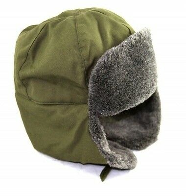 Ushanka Czech Army Hat (E-140)