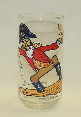 "1977 McDonaldland Action Series ""Captain Crook"" Glass"