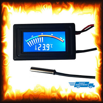 Colour Digital Marine Fish Reptile Aquarium Water Tank Thermometer Temperature