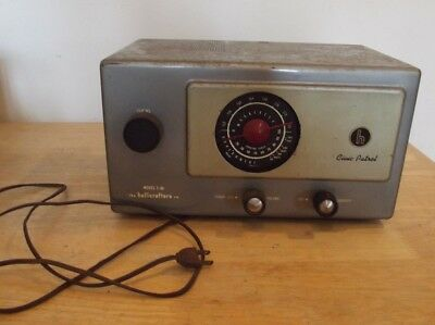 VINTAGE Serviced HALLICRAFTERS S-95 SHORTWAVE RECEIVER SHORTWAVE HAM RADIO