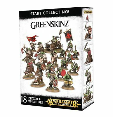 Start Collecting Greenskinz Warhammer Age of Sigmar Games Workshop 70-91