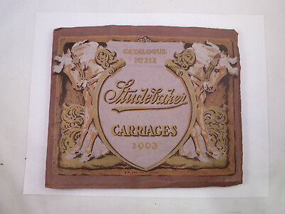 Studebaker Carriages 1903 Catalogue No. 212 & Price Guide