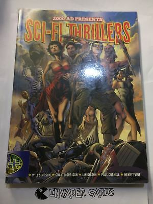 2000AD Presents Sci-fi Thrillers Comics TP TPB Graphic Novel Book