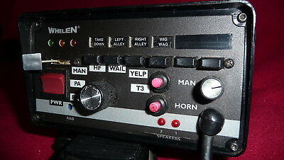WHELEN 295HFSA6 12volt Hands-Free Electronic Siren With Light Control Switches