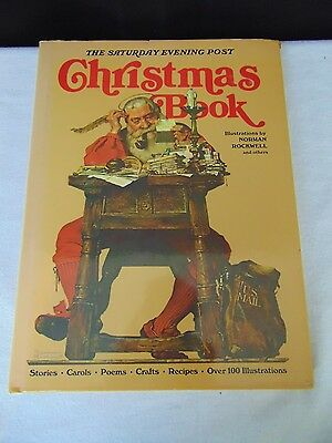 The Saturday Evening Post Christmas Book Norman Rockwell Illustrations #48