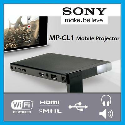 Sony MP-CL1, mobile laser pico-projector