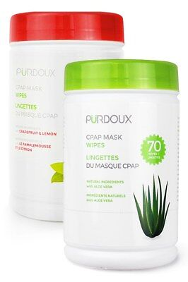 Purdoux CPAP Mask Wipes (Canister)