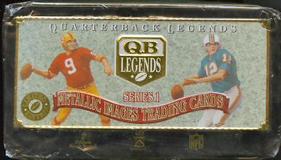 NFL - Quarterback Legends Series 1 Trading Cards Tin Set (Metallic Images) #NEW