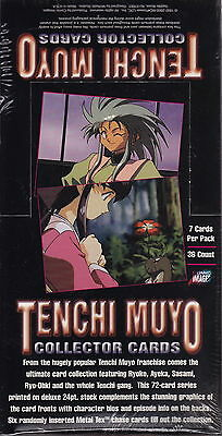 TENCHI MUYO - Collector Cards Factory Sealed Box (Comic Images) #NEW