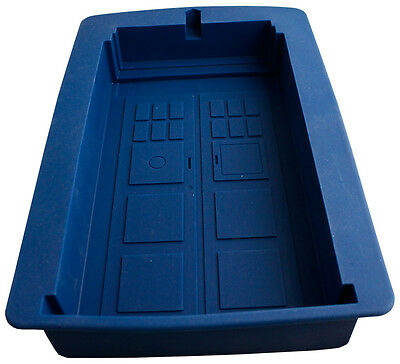 DOCTOR WHO - Tardis Silicon Cake Mould 30cm x 20cm (Ikon Collectables) #NEW