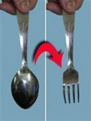 Spoon To Fork!!! Awesome Magic Trick