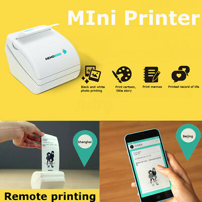 Mini WiFi Wireless Mobile Printer Thermal Photo Remote Printing for Android
