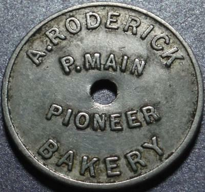 AUSTRALIA, New South Wales GOOD FOR ONE LOAF Bread Token COAL TOWN of Pelaw Main