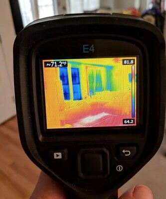 USED - FLIR E4 w/ Upgraded 320 x 240 thermal imaging camera - Free Ship