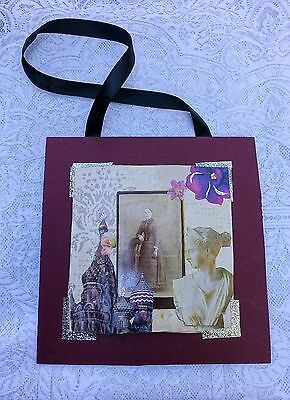 Vintage Victorian Mixed Media Art Collage Style. Buy-a-family, Handmade! Local!