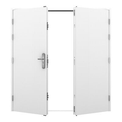 External Double Security Doors - Agricultural, Farm, Steel Frame Building, Shed