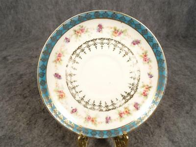 Victoria Carlsbad Austria Hand Painted Saucer Circa 1900'S