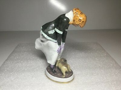 Royal Copenhagen Bing and Grondahl Woman in Stormy Weather Figurine 8042  Tegner