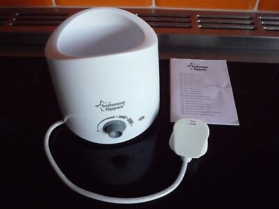 Tommee Tippee Closer to Nature electric bottle warmer, good condition