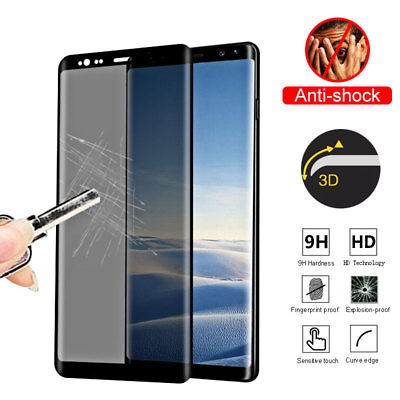 Privacy Anti-Spy Tempered Glass Screen Protector For Samsung Note 8 S8 Plus S7