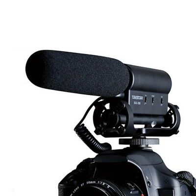 TAKSTAR SGC-598 Interview Microphone MIC for DSLR DV Camcorder Pro Audio Record