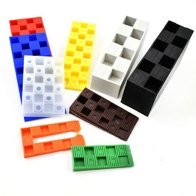 Wedgit® 126 Assorted Plastic Interlocking Ribbed Colour Wedges Levelling Decking