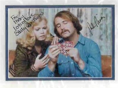 Rob Reiner-Sally Struthers signed All In The Family photo. Double matted. Nice !