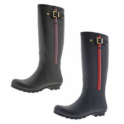 Tommy Hilfiger Malva Women's Tall Rubber Rain Boots Waterproof