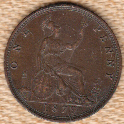 Great Britain 1879 Penny *VF+*
