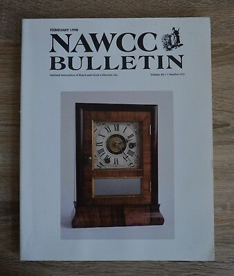 NAWCC Bulletin February 1998 National Association of Watch and Clock Collectors
