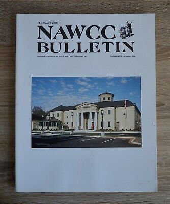 NAWCC Bulletin February 2000 National Association of Watch and Clock Collectors