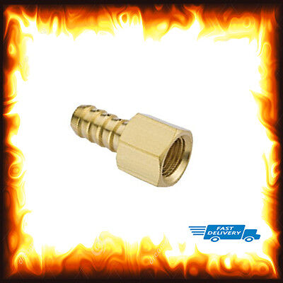 """1/8"""" BSP to 6mm Brass Female Barb Hose Tail Fitting Fuel Air Gas Water Hose Oil"""