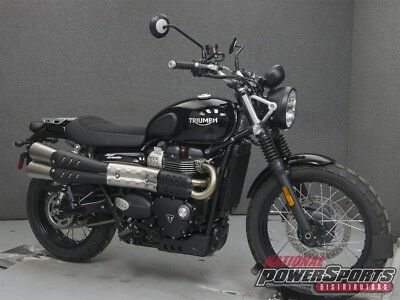 Triumph Street Scrambler  2017 Triumph Street Scrambler New FREE SHIPPING OVER $5000