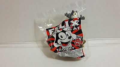 Felix The Cat Trophy Wendy's Kids Meal Toy Nip New Sealed 1996