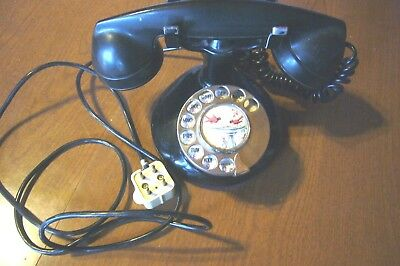 Antique Northern Electric Rotary Working Telephone Circa 1930 !!