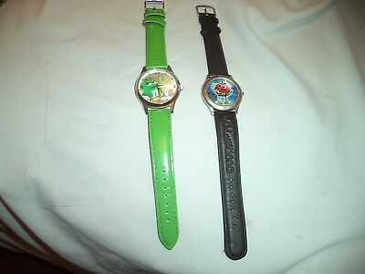 Lot Of 2 M & M Watches Limited Edition 1998 & Green M & M 2008