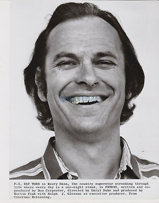 Payday Rip Torn As Country Singer 1975 Presskit Photo