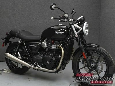 Triumph STREET TWIN W/ABS  2017 TRIUMPH STREET TWIN W/ABS New FREE SHIPPING OVER $5000