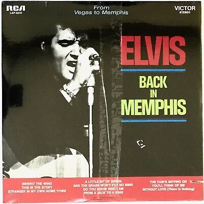 Elvis Presley - Back In Memphis NEW FACTORY SEALED LP MINT