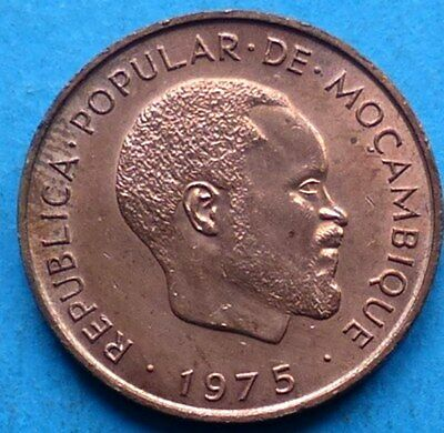 ! MOSAMBIK MOCAMBIQUE MOZAMBIQUE 10 CENTIMOS 1975 RRR !! not in circulation