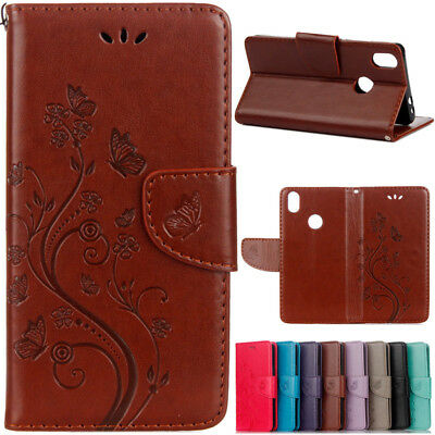 Luxury PU Leather Magnetic Flip Stand Card Slot Wallet Case Cover For Various