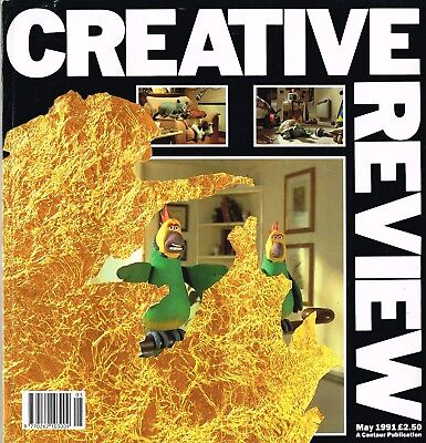 CREATIVE REVIEW Magazine May 1991 BRIAN GRIFFIN Andrew Logan ANDREW McEWAN @EX@