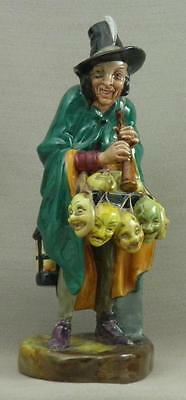 Royal Doulton Bone China Figurine - Mask Seller - HN 2103