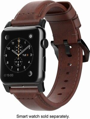 Nomad Classic Leather Watch Strap for Apple Watch 42mm - Ashland Brown - VG