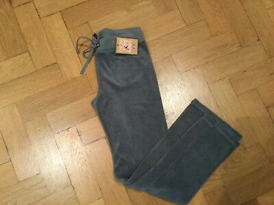 NWT Juicy Couture New & Genuine Grey Cotton Tracksuit Pants Girls Age 8